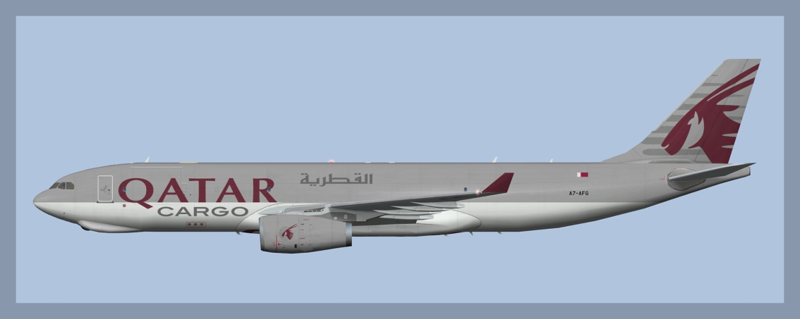 Qatar Airways Airbus A330-200F