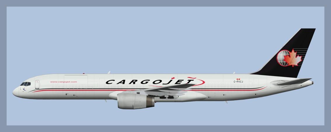 Cargojet Boeing 757Fleet
