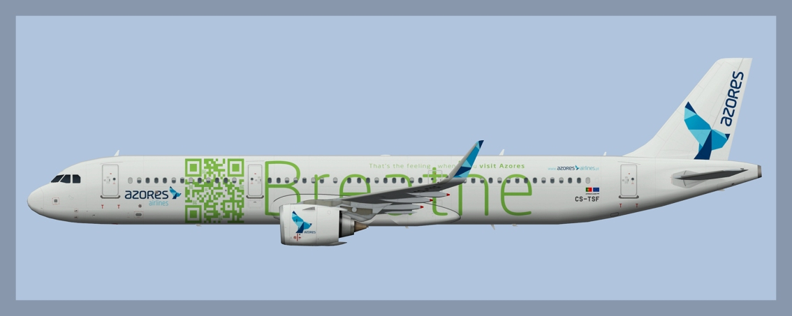 Azores Airlines Airbus A321NEO CS-TSF