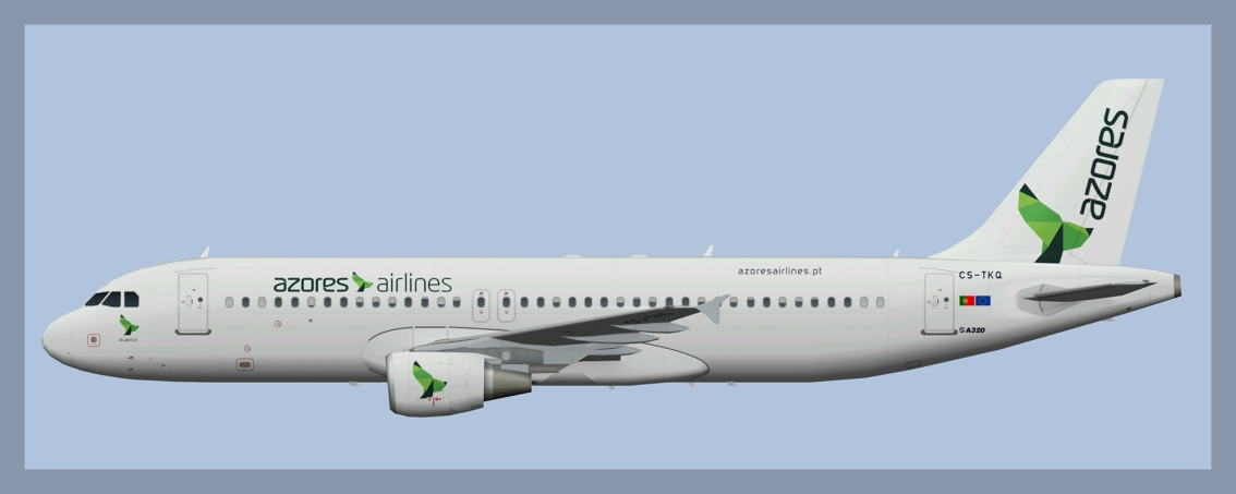 Azores Airlines Airbus A320