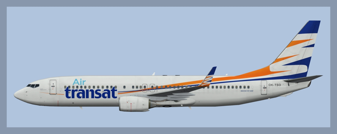 Air Transat Boeing 737-800 Winter 2018Fleet
