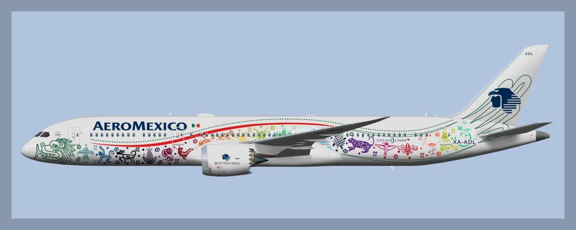 Aeromexico Boeing 787-9Fleet