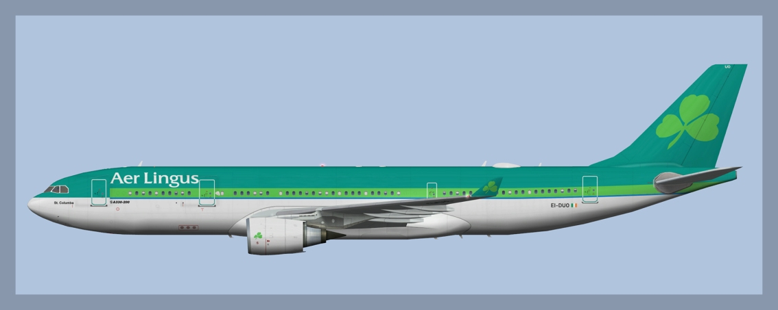 Aer Lingus Airbus A330-200Fleet