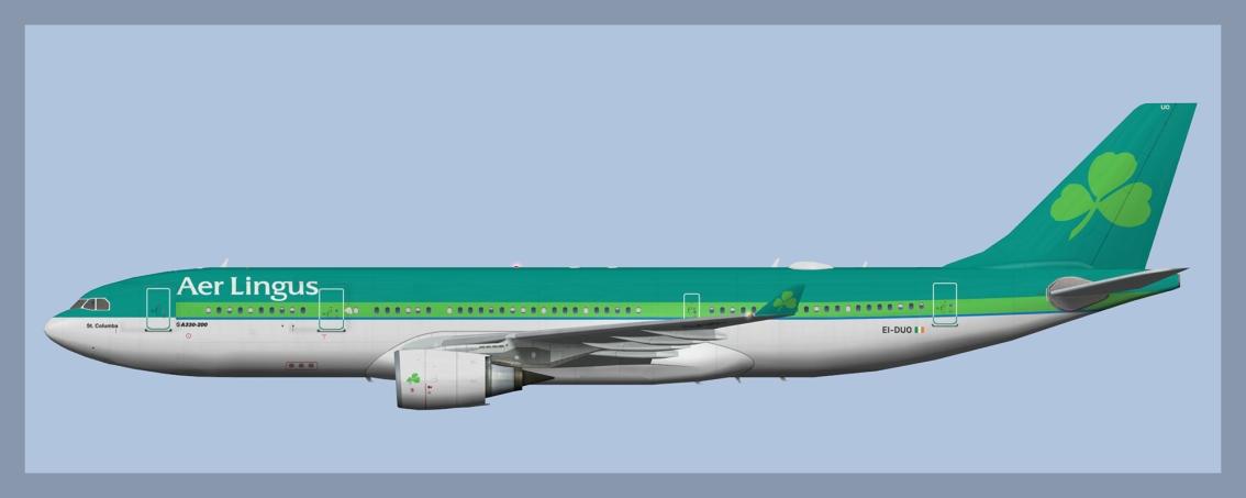 Aer Lingus Airbus A330-200 Fleet – ATCO Repaints