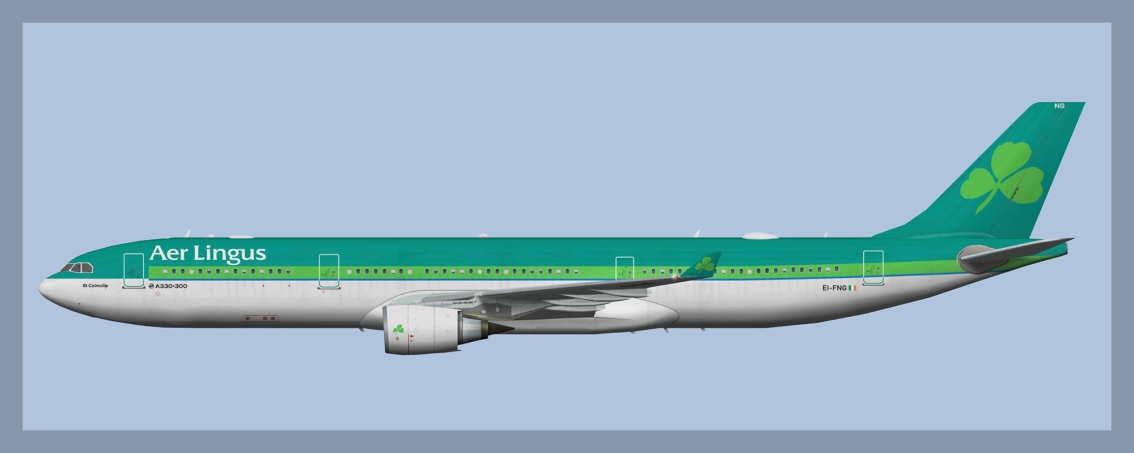 Aer Lingus Airbus A330-300Fleet