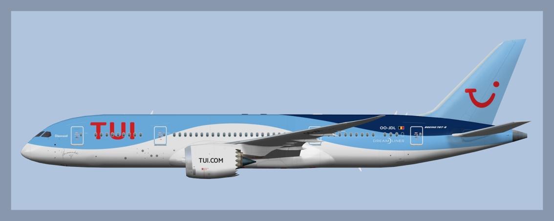 TUIfly Belgium Boeing787-8