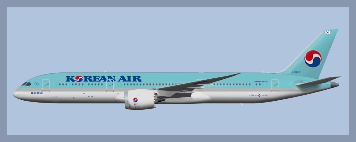 Korean Air Boeing787-9
