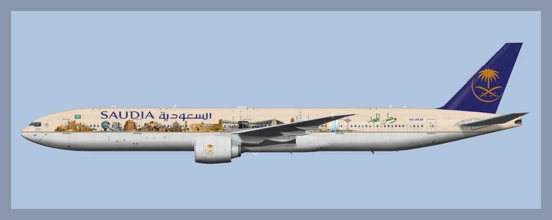 Saudia Boeing 777-300ERFleet