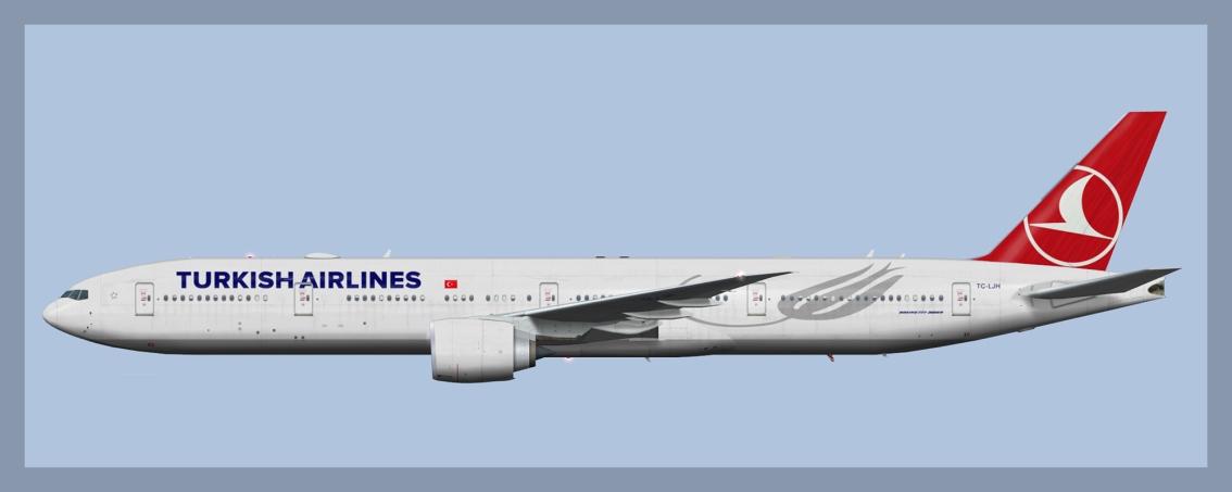 Turkish Airlines Boeing777-300ER