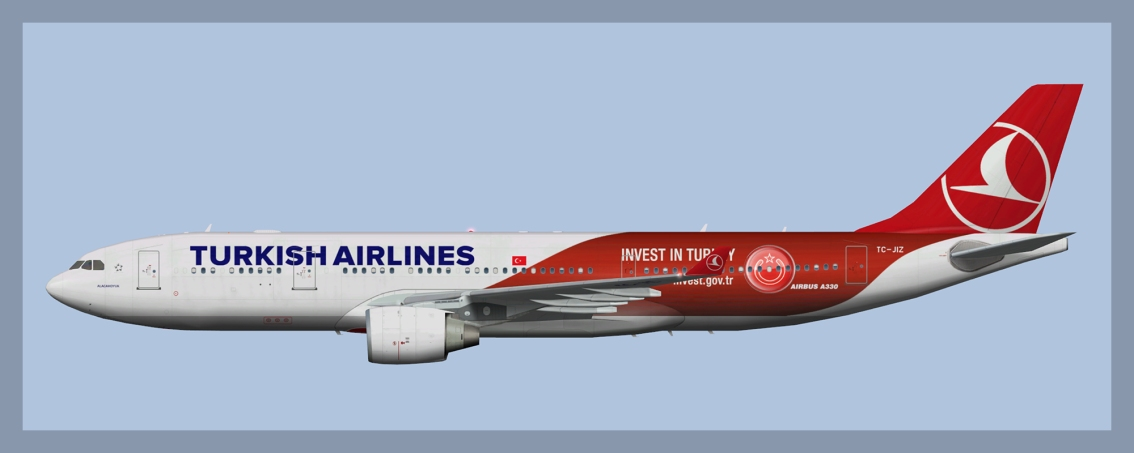 Turkish Airlines Airbus A330-200 Fleet