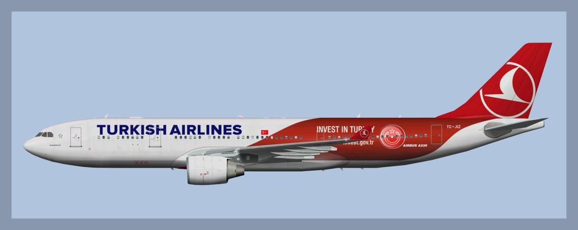 Turkish Airlines Airbus A330-200Fleet