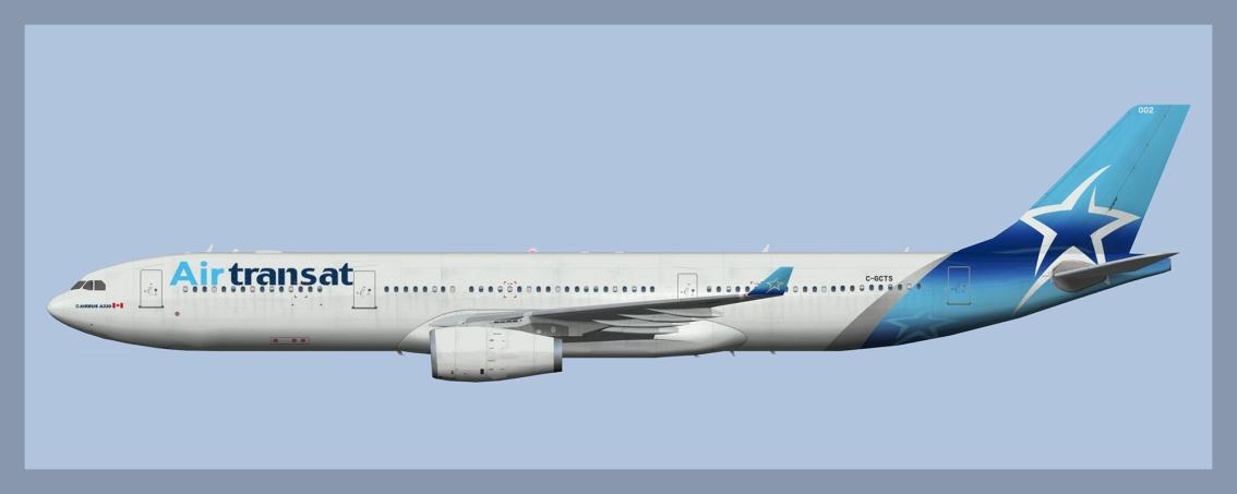 Air Transat Airbus A330-300 NC2017