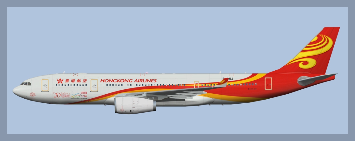 Hong Kong Airlines Airbus A330-200/300 Fleet