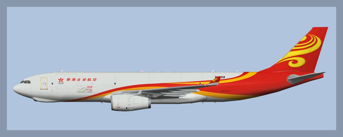 Hong Kong Air Cargo Airbus A330-200F