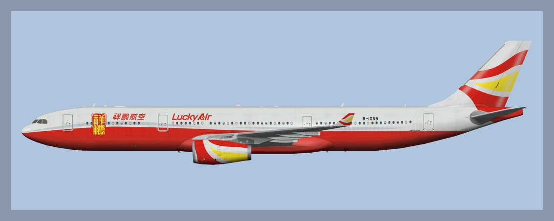 Lucky Air Airbus A330-300 Fleet