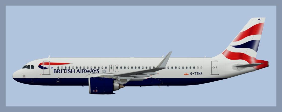 British Airways AirbusA320NEO
