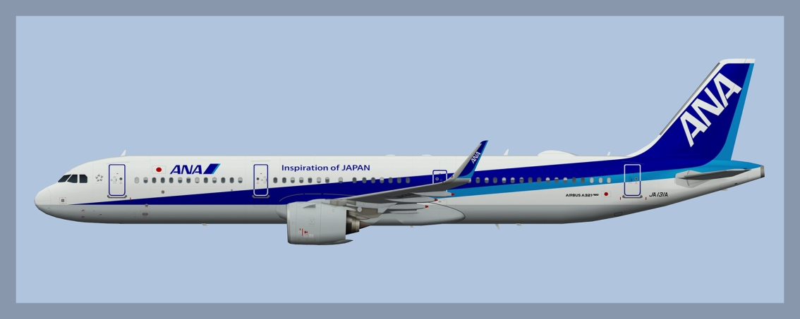 All Nippon Airbus A321NEO