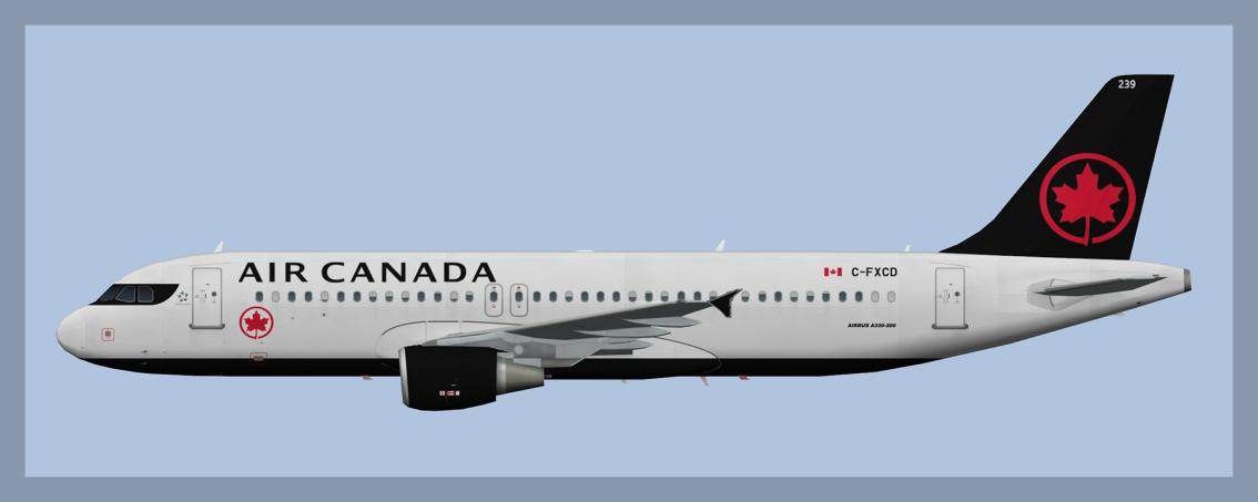 Air Canada Airbus A320-200 NC2017
