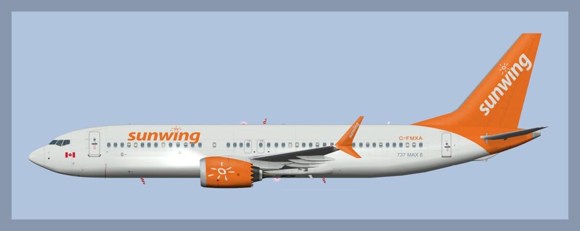 Sunwing Boeing 737-MAX8
