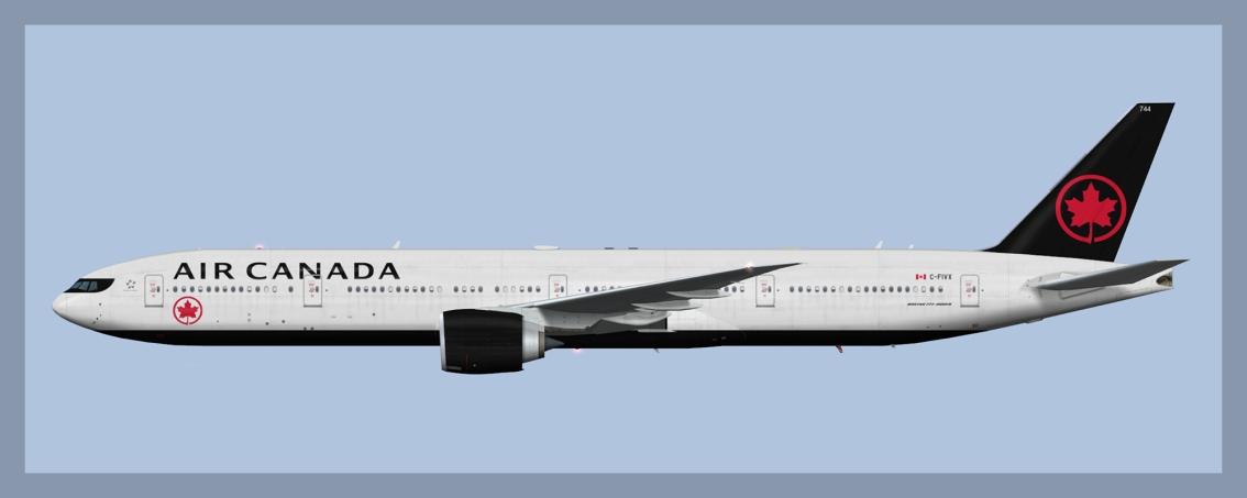 Air Canada Boeing 777-300ER NC 2017HD2