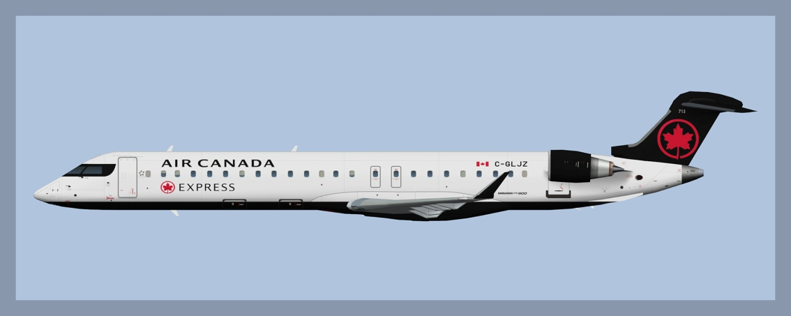 Air Canada Express Bombardier CRJ705/900 Fleet