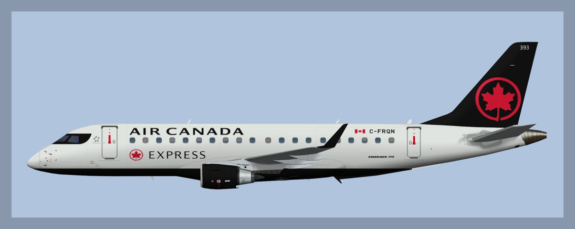 Air Canada Express Embraer E175 NC 2017 – New Express Titles