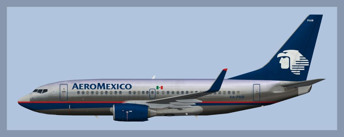 Aeromexico Boeing 737-700 Fleet2018