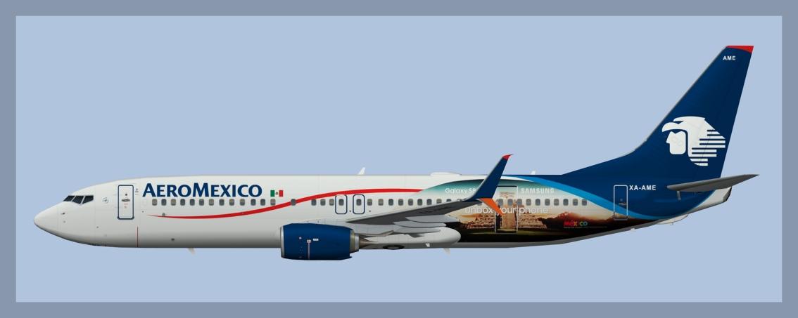 Aeromexico Boeing 737-800 Fleet2018