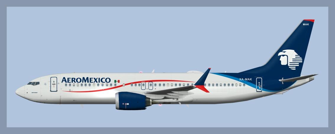 Aeromexico Boeing 737-MAX8