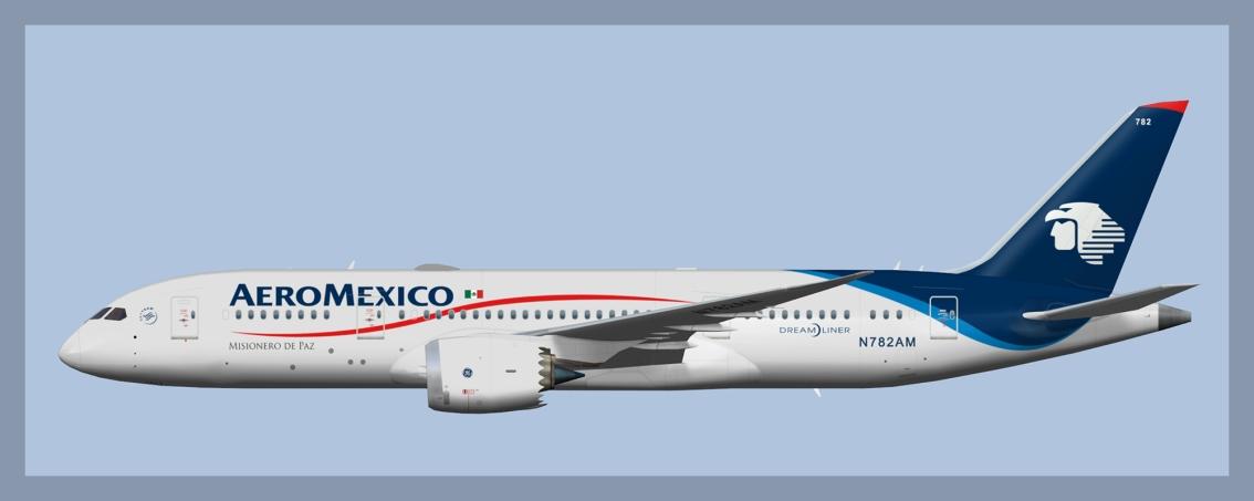 Aeromexico Boeing 787-8 FleetUpdate