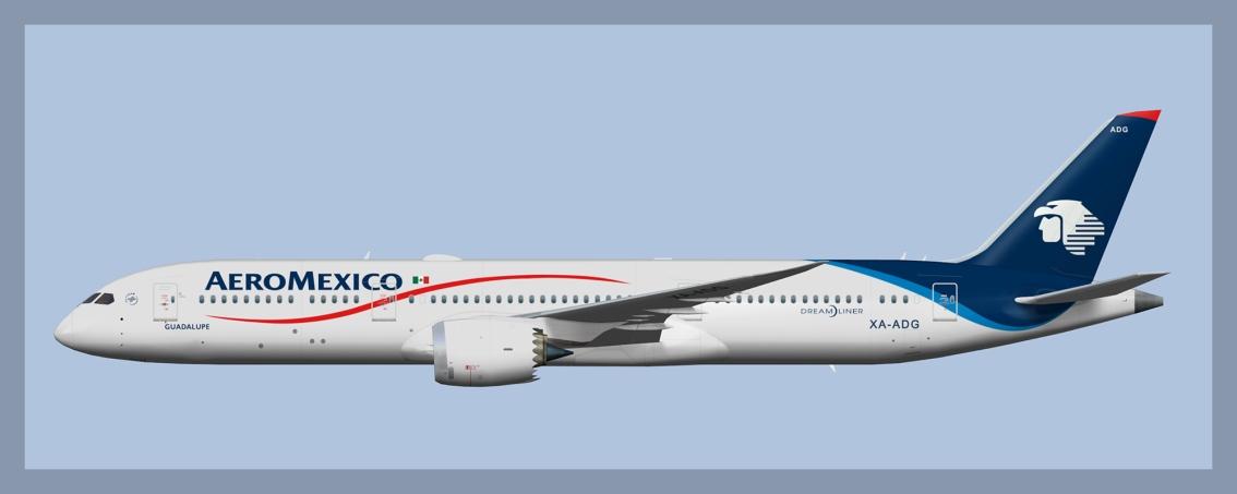 Aeromexico Boeing 787-9 FleetUpdate