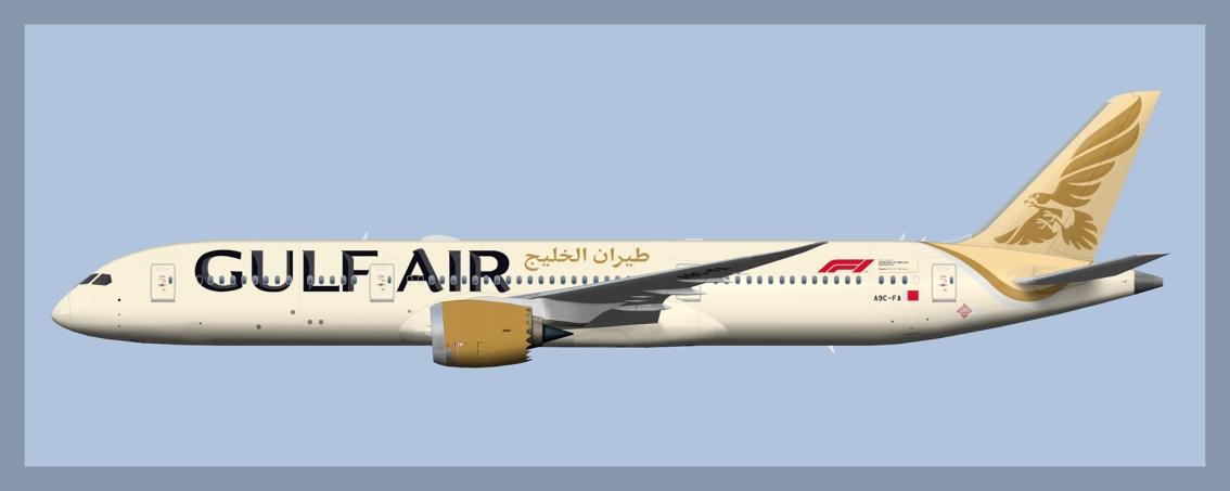 Gulf Air Boeing787-9
