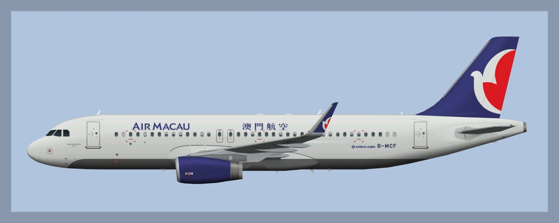 Air Macau Airbus A320 Fleet