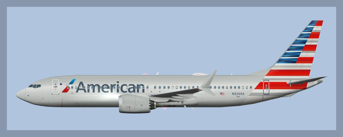 American Airlines Boeing 737MAX8