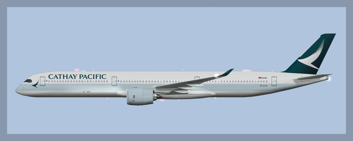 Cathay Pacific AirbusA350-1000