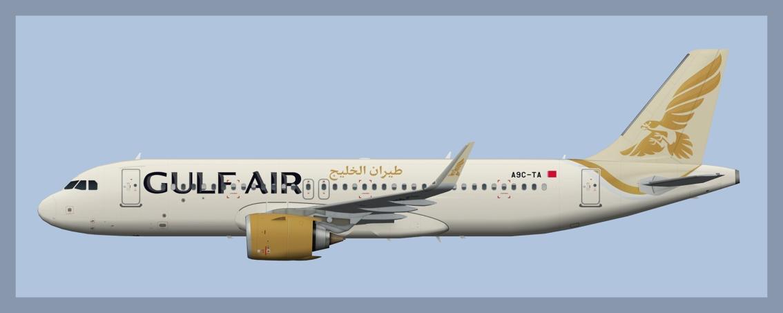 Gulf Air AirbusA320NEO