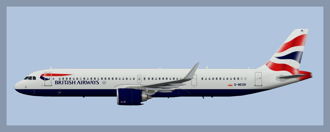 British Airways AirbusA321NEO