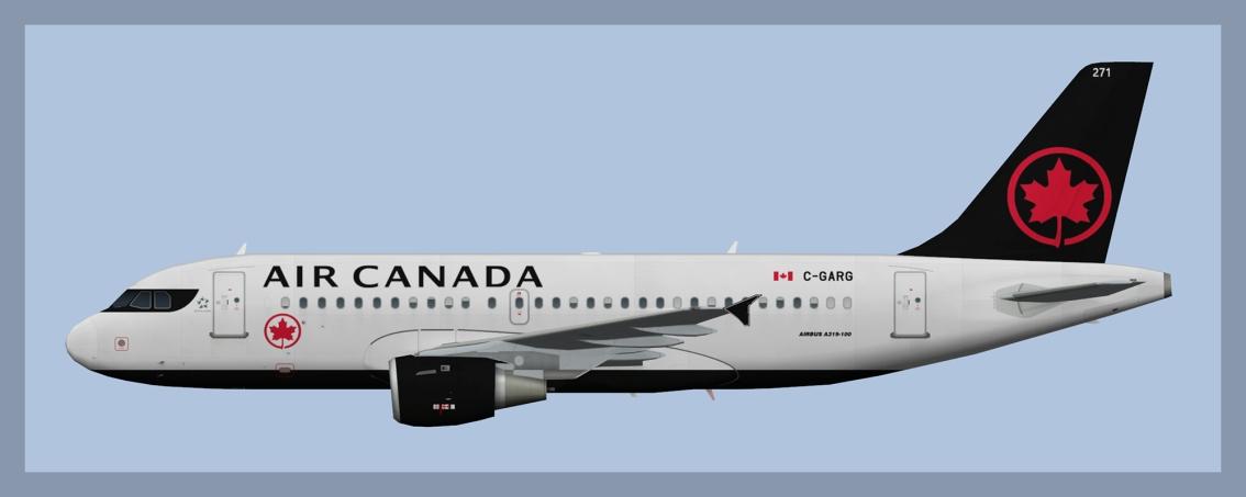 Air Canada Airbus A319 NC2017