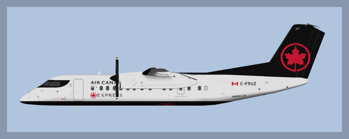 Air Canada Express Dash8-Q300 NC 2017