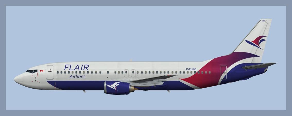 Flair Airlines Boeing 737-400 Fleet2018
