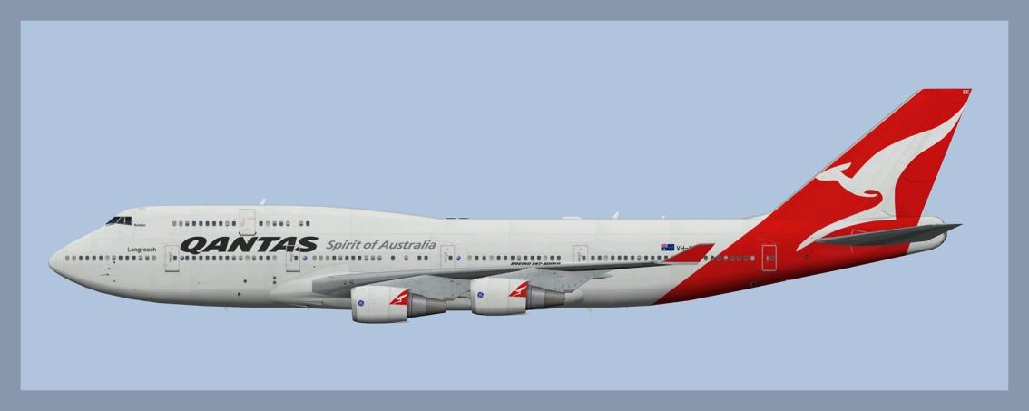 QANTAS Boeing 747-400 OCFleet