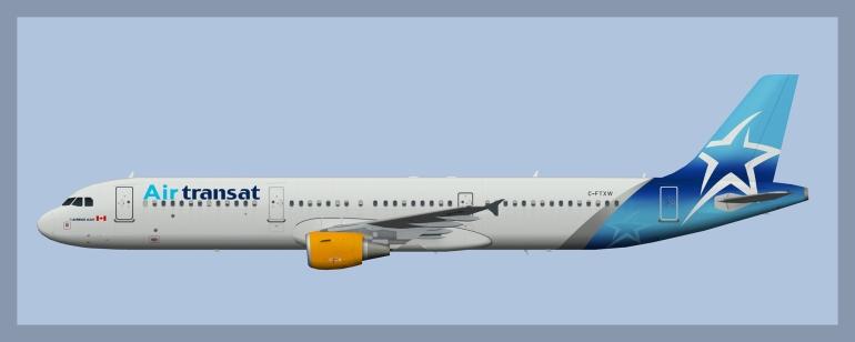 Air Transat – ATCO Repaints