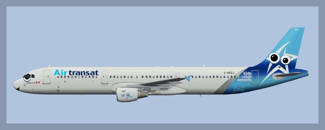 Air Transat Airbus A321 Fleet2018