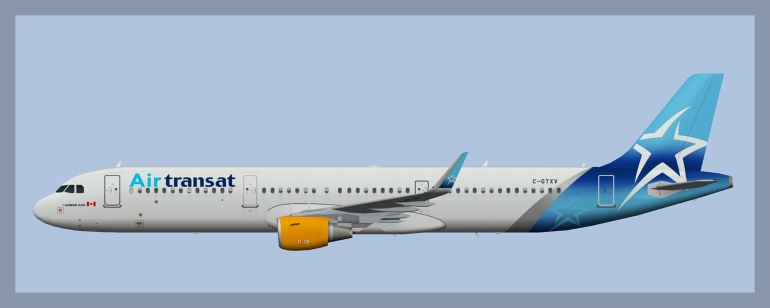 Air Transat – ATCO Repaints