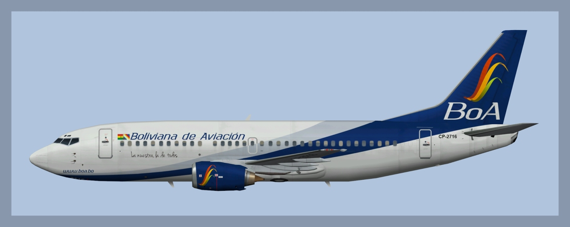 Boliviana de Aviacion Boeing 737-300 Fleet