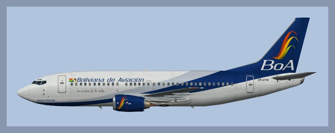 Boliviana de Aviacion Boeing 737-300Fleet