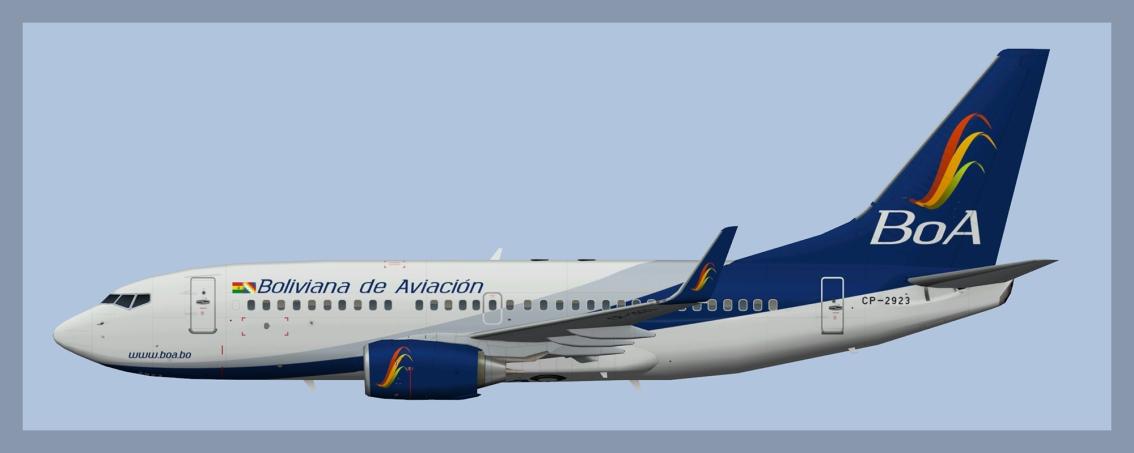 Boliviana de Aviacion Boeing737-700
