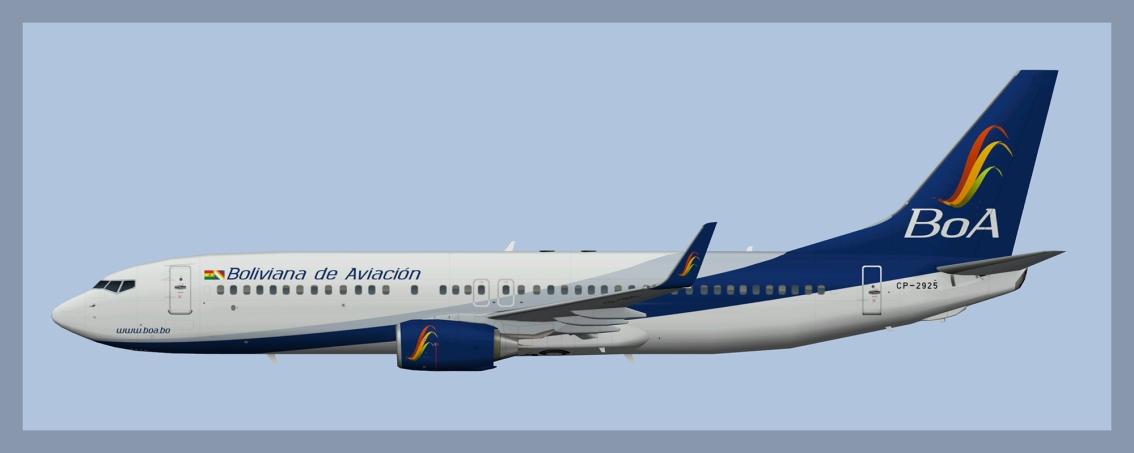 Boliviana de Aviacion Boeing737-800