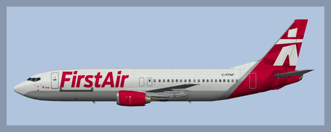 First Air Boeing 737-400 Fleet 2018