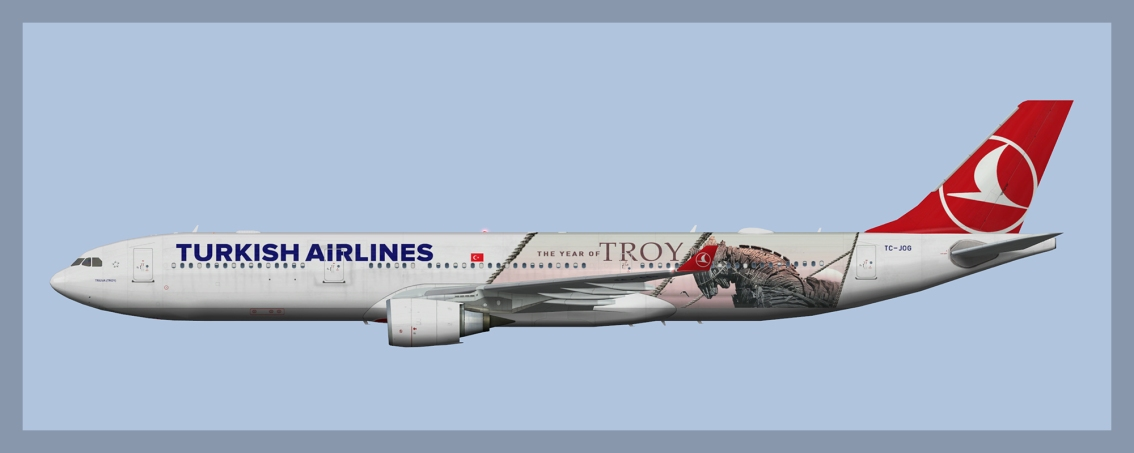 Turkish Airlines Airbus A330-300TC-JOG